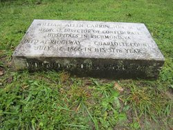 Dr William Allen Carrington