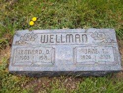 Jane T. <i>Kaus</i> Wellman