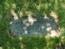 Harriet E. <i>Tennyson</i> Cucia