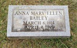 Anna Mary Ellen Bailey