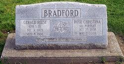 Rose Christina <i>Poppoff</i> Bradford