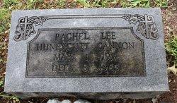 Rachel Lee <i>Huneycutt</i> Cannon