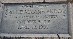 Billie Maxine Ando