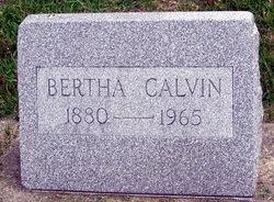 Bertha Elizabeth Calvin