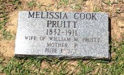 Melissa <i>Cook</i> Pruitt