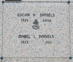 Edgar K Dan Daniels