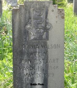 Virginia <i>Wilson</i> Stuart