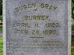 Susan <i>Gray</i> Burney