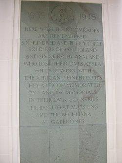 Brookwood (1939-1945) Memorial