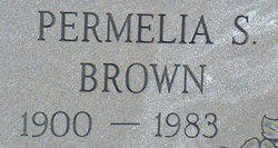 Permelia Susan <i>Thompson</i> Brown