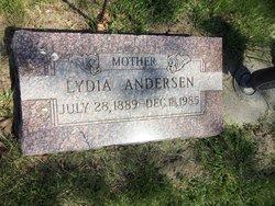 Lydia J. <i>Petersen</i> Andersen