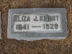 Eliza Jane <i>Franks</i> Knight