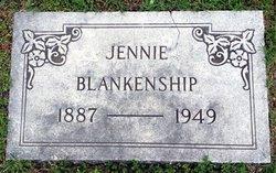 Mary Jane Jennie <i>White</i> Blankenship