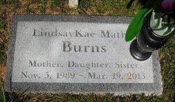 Lindsay Kae <i>Mathis</i> Burns