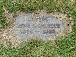 Anna Charlotte <i>Johnson</i> Anderson