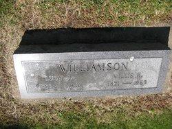 Lucy Louisa <i>Litts</i> Williamson