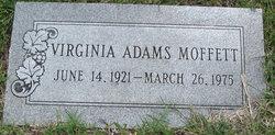Helen Virginia <i>Adams</i> Moffett