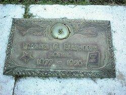 Frances G Fannie <i>Liddell</i> Ellsworth