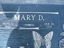 Mary Elizabeth <i>Daugherty</i> Freeman