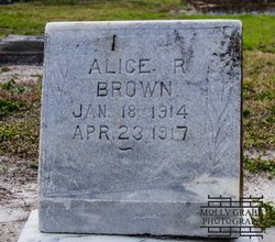 Alice R Brown