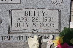 Betty Mae <i>Bartee</i> Asbury