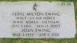 Veryl Milton Ewing