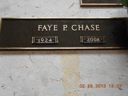 Faye P <i>Phennel</i> Chase