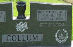 Betty <i>Davis</i> Collum
