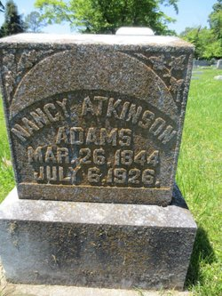 Nancy <i>Atkinson</i> Adams