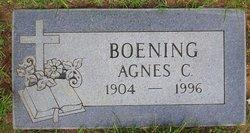 Agnes C Boening