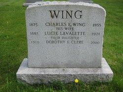 Dorothy Evelyn <i>Wing</i> Clere