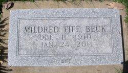 Mildred <i>Fife</i> Beck