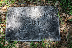 Bertie <i>Jahns</i> Baird