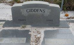 Mary Frances <i>Higgs</i> Giddens