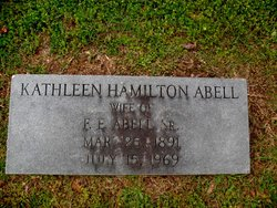 Kathleen <i>Hamilton</i> Abell