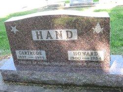 Gertrude May <i>Meythaler</i> Hand
