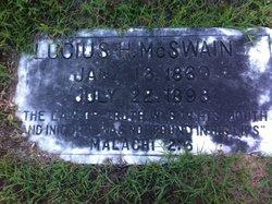 Lucius H McSwain