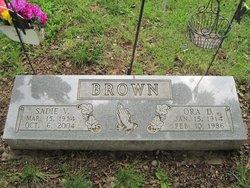Sadie V. Brown