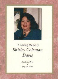 Shirley <i>Coleman</i> Davis
