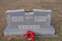Mary Elizabeth <i>Baker</i> Avery