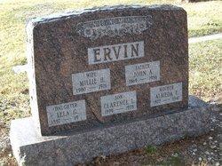 Millie <i>Hall</i> Ervin