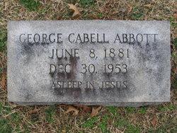 George Cabell Abbott