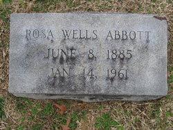 Rosa <i>Wells</i> Abbott