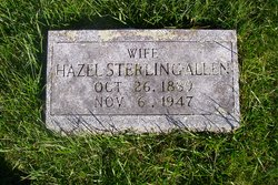 Hazel <i>Sterling</i> Allen
