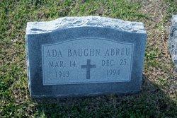 Ada <i>Baughn</i> Abreu