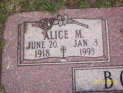 Alice M. <i>Kantz</i> Booker