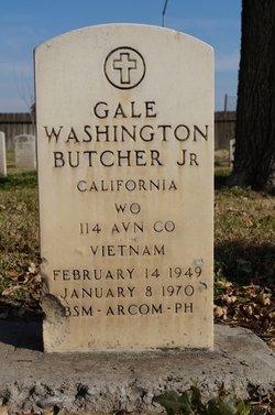 WO Gale Washington Butcher, Jr.