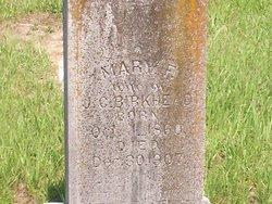 Mary Frances <i>Johnson</i> Birkhead