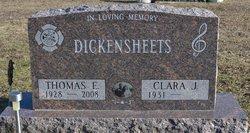 Thomas E. Dickensheets