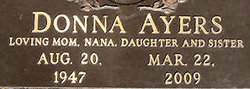Donna <i>Wise</i> Ayers